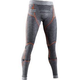 X-Bionic Apani 4.0 Pantaloni Merino Uomo, black/grey/orange